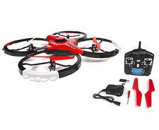 Drone Cuadricóptero RC 4 canales Stunt Heli espía 2.4GHZ cámara de 0.3MP de 6 Ejes Volador