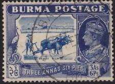 BURMA 1938-40 GVI 3a6p SG27 fine used......................................69833