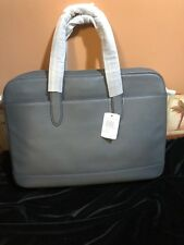 NWT Grey Brief Case Bag, mens or women's