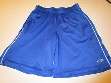 Champion Men's Women's Unisex Blue Sports Athletic Duo Dry Shorts Size M