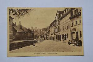 Ansichtskarte Stadtroda in Thüringen Mühlenstrasse