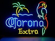 "New Corona extra parrot palm tree Neon Sign 20""x16"""