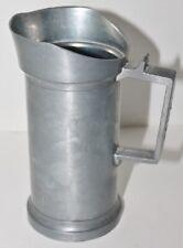 Antique Deciliter Pewter Tankard Mug Measuring Cups - 1/2 Liter - EUC