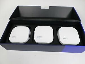 Eero Pro 6 AX4200 Tri-Band Wi-Fi 6 Mesh Wifi System (3-pack) - Used