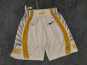 Hot sale Dallas Mavericks Platinum City Edition Men Basketball Shorts Siz: S-XXL