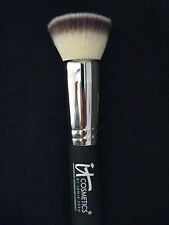 It COSMETICS Heavenly Luxe Buffing Powder Face Brush Flat Top Retail $48 NIP