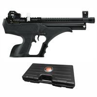 Hatsan Sortie Semi-Auto PCP Synthetic .177 Caliber Air Pistol | Hard Case +3 Mag