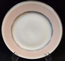 "Homer Laughlin Eggshell Georgian Pink Salad Plate 8 1/4"" G3348 Wheat Laurel EUC"