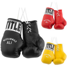 """Title Boxing 5"""" Authentic Detailed """"Muhammad Ali"""" Mini Lace Up Gloves"""
