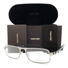 New Tom Ford Eyeglasses 5201 013 Silver 56•16•140 With Case
