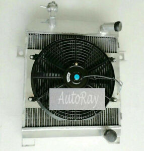 Full Aluminum Radiator + Shroud + Fan FOR JAGUAR MK1 / MK2 MK II / S-TYPE MT