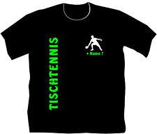 Tischtennis Sport T-Shirt Sportverein Tischtennisschläger Ball Geschenk Kinder 2