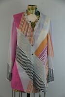 Nic + Zoe Nic and Zoe $168 All Angles Print Blouse Tunic Size Small