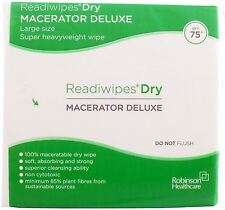 Readiwipes Dry - Macerator Deluxe, LargePack of 75