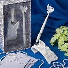 Rhinestone Reception Guest Book Wedding Pen Set With Holder Fancy Decoration
