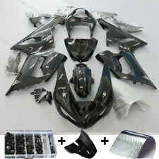 Gloss Black Injection Fairing Kit Fit KAWASAKI NINJA ZX6R ZX-6R 2005 2006 ZX636C