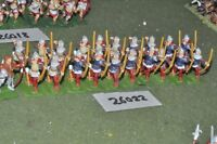 25mm medieval / english - archers 21 figures - inf (26022)