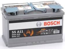 Batteria auto BOSCH S5A11 AGM 80AH 800A cod. 0092S5A110 Start-Stop Battery