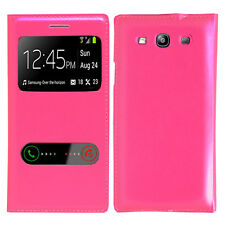 Cover Case Plastic View Shell Pink Samsung Galaxy S3 i9300 / i9305 Neo