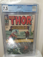 Thor #130 CGC 7.5 1966 Hercules and Pluto APP Marvel COMIC