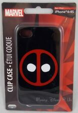 New Marvel Universe Deadpool Logo iPhone 4/4S Cell Phone Cover Clip Case