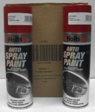 2 x RENAULT FLAME RED (54) -  HOLTS SPRAY PAINT