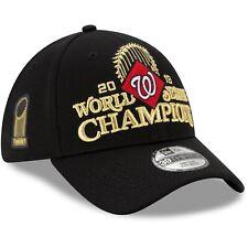 Washington Nationals New Era 39THIRTY World Series Champions Locker Room Cap Hat