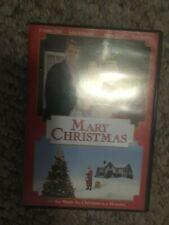 MARY CHRISTMAS DVD John Schneider Cynthia Gibb Tom Bosley 2002 IN CASE SHIP FAST
