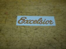 Mint Vintage Oem Schwinn Approved Excelsior Bicycle Downtube Decal