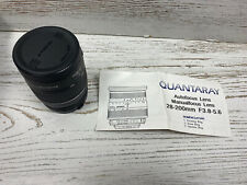 Quantaray 28-200mm f/3.8-5.6 AF Lens For Canon