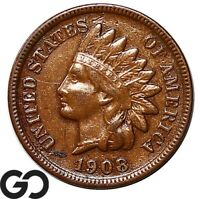 1908-S Indian Head Cent Penny, Details, Key Date
