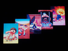 GARBAGE PAIL KIDS 2011 Flashback Series 3 - Complete 3D Insert Set 5 Cards - FS3