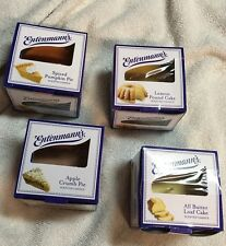 4- Entenmann's Scented Candles - Butter Loaf , Pound Cake , Apple & Pumpkin Pie