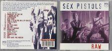 Sex Pistols - Raw  (CD, May-1997, Music Club Records)
