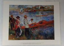 Auguste Renoir Oarsmen at Chatou Art Print