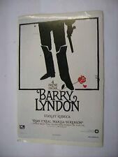 BARRY LINDON - RARO CINEADESIVO 10X15 CM - NUOVO - STANLEY KUBRICK