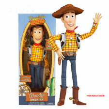 Toy Story Talking Sheriff Woody Pride Cowboy Stuffed Soft Plush Play Toy Doll