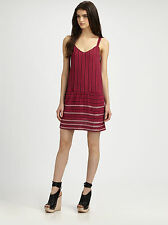NWT Theory Sially E Ingrained Beaded Dress Pink Ginger $385 – Size 8