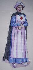 KL141 WW1 infirmière Cross Stitch Kit Par Vanessa puits de goldleaf Needlework