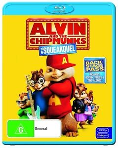 Alvin And The Chipmunks - The Squeakquel (Blu-ray, 2010)