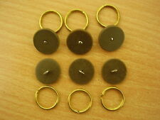 1944  Army Home Guard Home Front Ring-Back BUTTONS