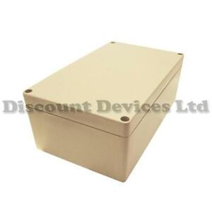 200x120x75 Sealed IP65 Waterproof ABS Electric / Electronic Enclosure Box