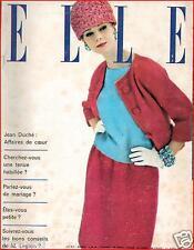 ▬►Elle 745 de 1960 Jean Delannoy_Maria Callas (3 pages 1/2)_Mode Fashion Vintage