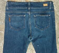 PAIGE PREMIUM Women's Boot Cut Faded Blue Jeans Size 8 Actual 30 x 30