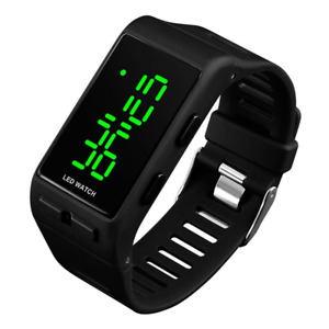 RSVOM Digital Watches for Men Women, 3 ATM Waterproof Sports Digital Watch with