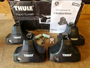 Thule 754 Foot Pack Very Good Condition,