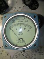 Vintage Pressure Gauge.Modern Industrial Interior.Steampunk Art.USSR Manometer.