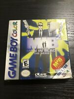 Men in Black 2: The Series (Nintendo Game Boy Color, 2000) New Sealed