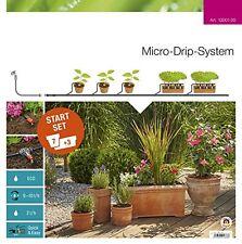 Gardena Original Garten Zubehor Micro-Drip Start Set Beste Pflanztöpfe NEU
