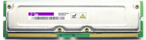 64MB Samsung Non-Ecc PC800-45 MR16R0824BN1-CK8DF Rimm Memory Module